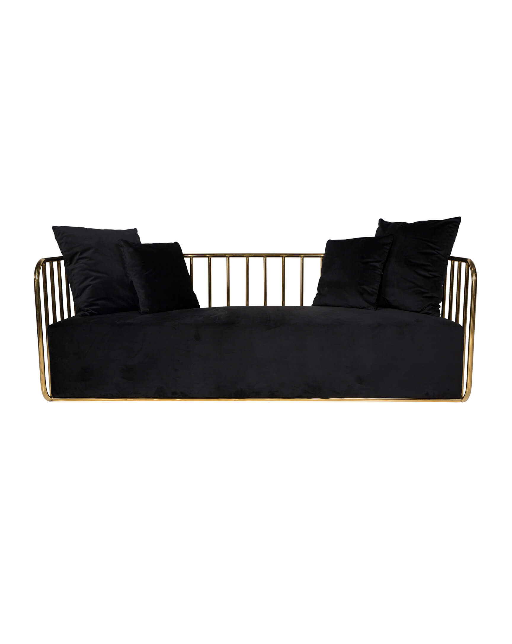 Lounge Black Gold Calle Ocho Sofa